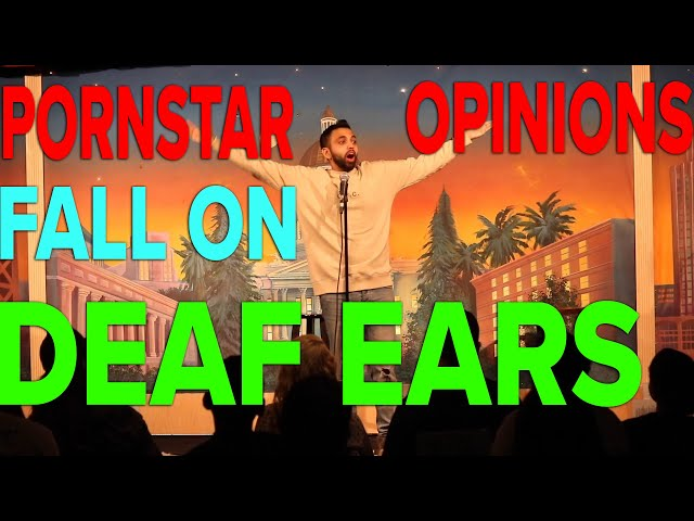 Pornstar Opinions Fall On Deaf Ears | Akaash Singh | Freestyle Stand Up Comedy