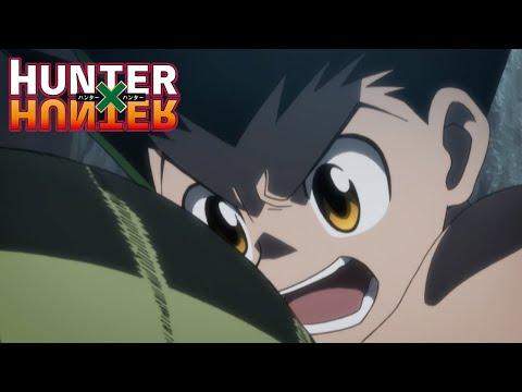Gon vs Baro   Hunter X Hunter