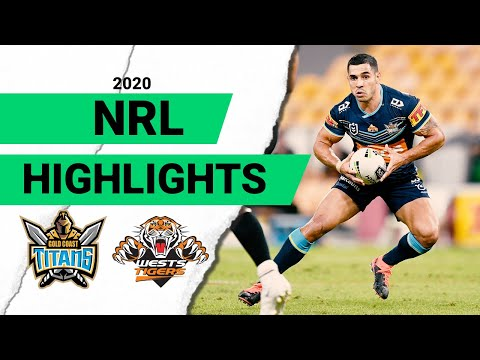 Titans V Tigers Match Highlights | Round 4 2020 | Telstra Premiership | NRL