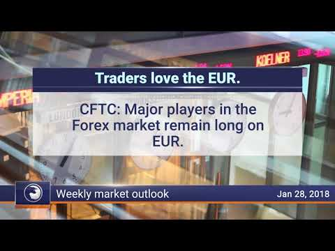Weekly Market Review, January 28th 2018: Traders love EUR
