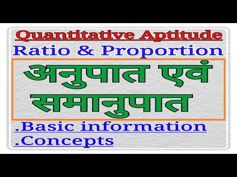 Ratio and Proportion | [In Hindi] | Most important concepts and Basic Information| for SSC CGL, CHSL