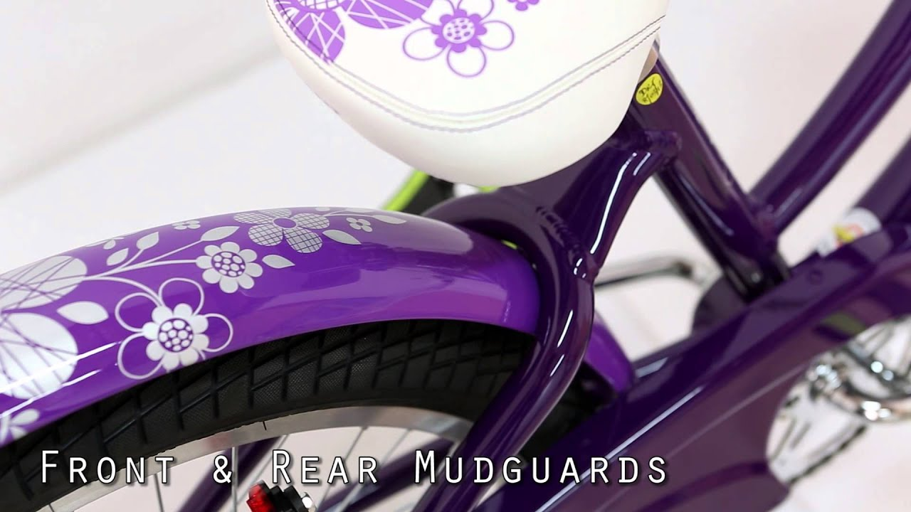 Giant Holly 20 Quot Girls Bike Purple Youtube
