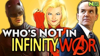 AVENGERS: Infinity War FIRST FOOTAGE! Who Is NOT in Infinity War?