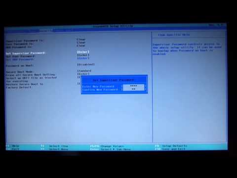 Install Win7 Besides Win8: Video 7 - Disable Secure Boot