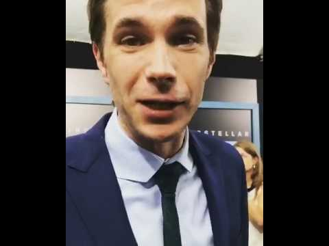 James D´Arcy about Dunkirk  at  IMAX! New York premiere.