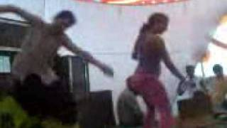 Repeat youtube video sexy dance on stage in front of people..