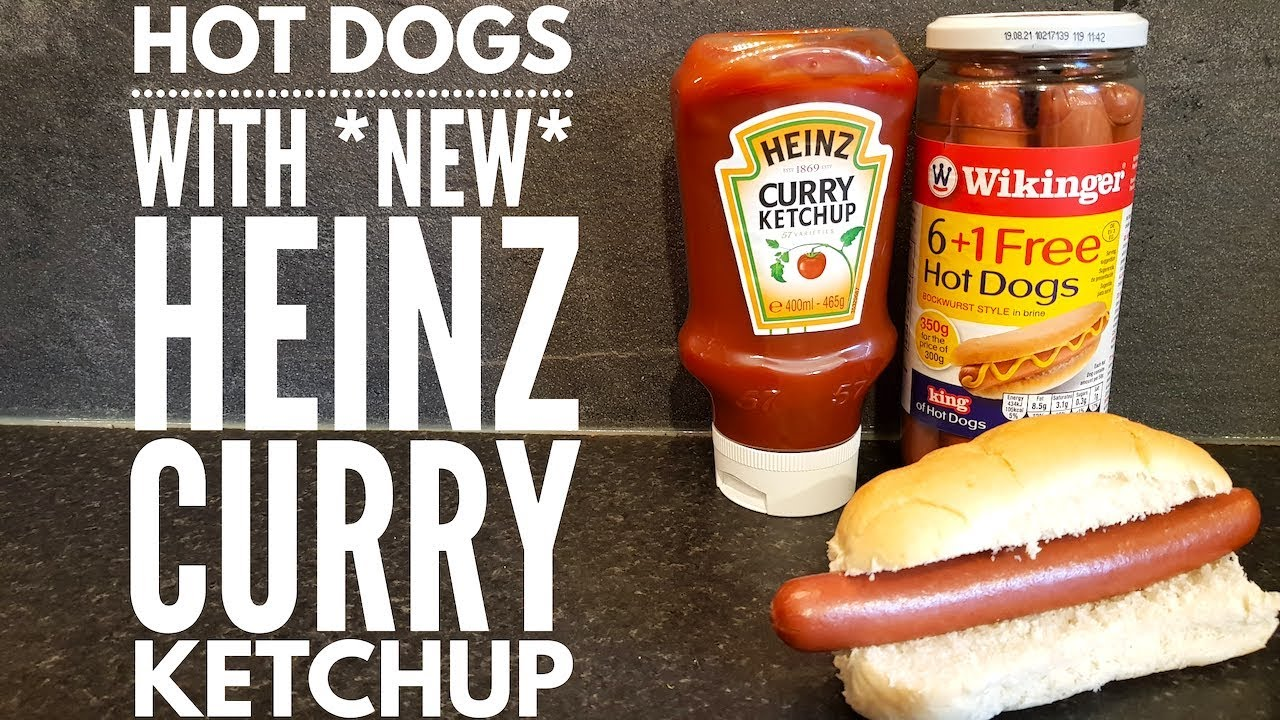 Wikinger Bockwurst Hot Dogs With New Heinz Curry Ketchup