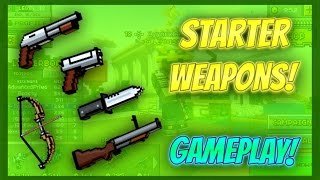 Pixel Gun 3D - Starter Weapon Gameplay!