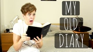 REACTING TO MY OLD DIARY.. | ThatcherJoe