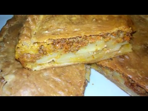 Тесто для картофельного пирога