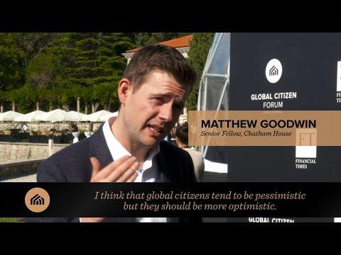 Matthew Goodwin interview: Global Citizen Forum 2017