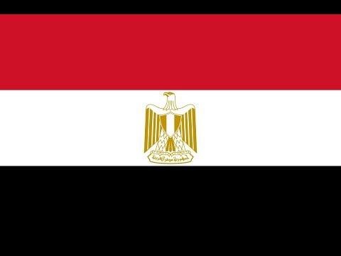 Флаг Египта.
