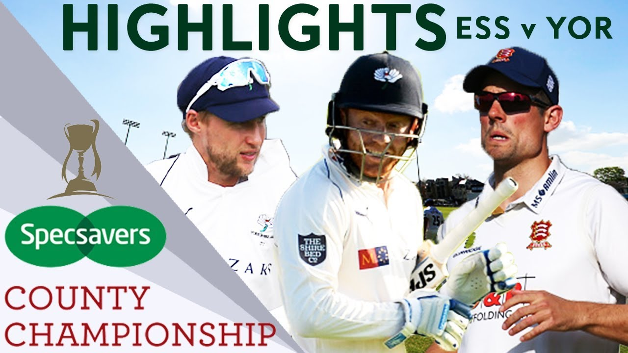 Root, Bairstow and Cook Face Off In Extraordinary Game  - County Championship 2018 Highlights