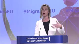 European Agenda on Migration: Federica MOGHERINI thumbnail