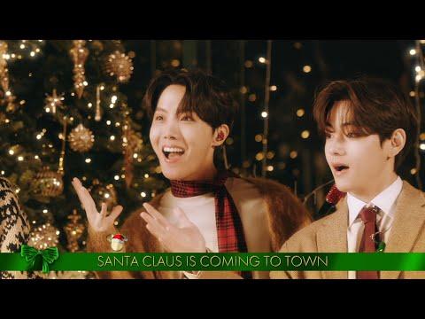 BTS adelantó la Navidad al cantar 'Santa Claus Is Comin' To Town'