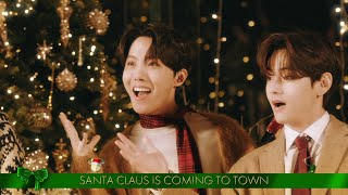 BTS Sings 'Santa Claus Is Comin' To Town' - The Disney Holiday Singalong