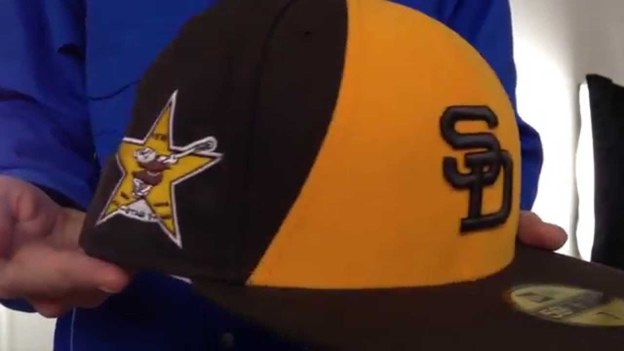 53d0249ff3a643 Padres 1978 'SIDE ALL-STAR-PATCH' Fitted Hat by New Era - YouTube