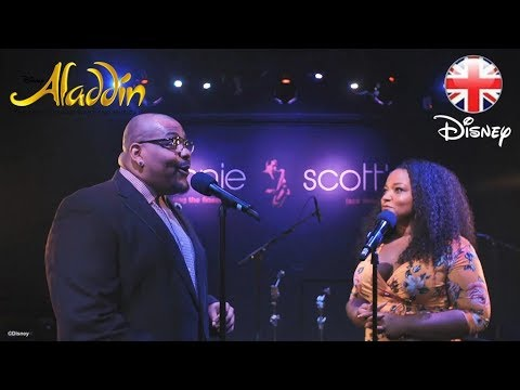 ALADDIN THE MUSICAL | A Whole New World- Trevor Dion Nicholas & Marisha Wallace | Official Disney UK