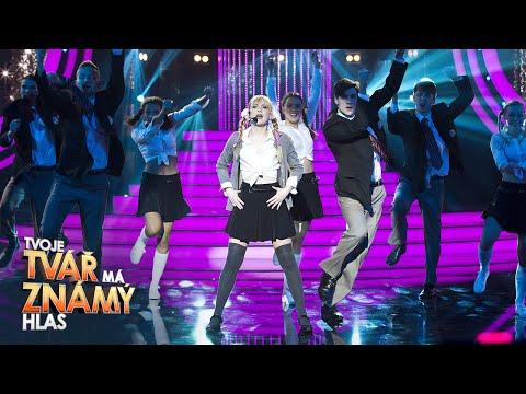 Anna Fialová jako Britney Spears – 'Baby One More Time' | Tvoje tvář má známý hlas