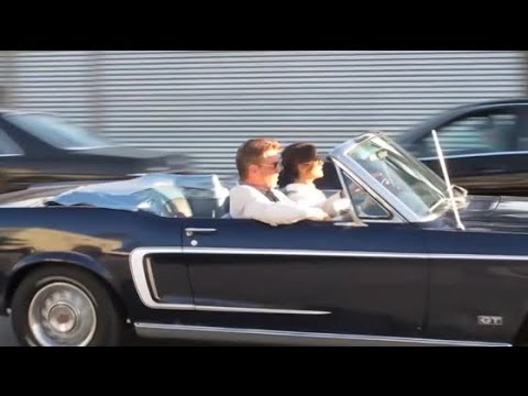 Pierce Brosnan and Salma Hayek Film 'How to Make Love Like an Englishman' | Splash News TV