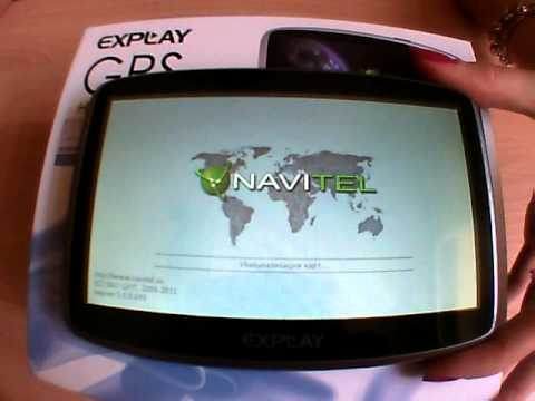 Навигатор Explay 935 Инструкция