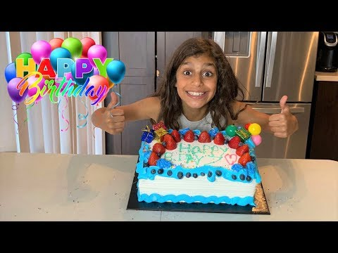 Deema Play Birthday Party Cake surprise with Toys