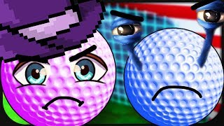 Zwei AGGRESSIVE YouTuber rasten aus! ☆ Golf it!