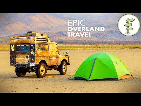 Family of 5 Lived in a Tiny Land Rover for Epic 9-Month Overland Travel