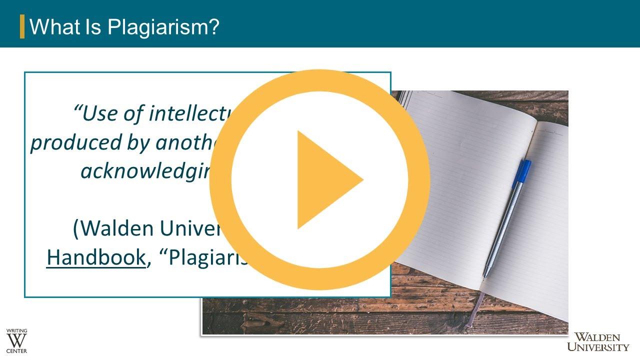 Incorrect Paraphrasing Using Evidence Academic Guide At Walden University Proper And Improper