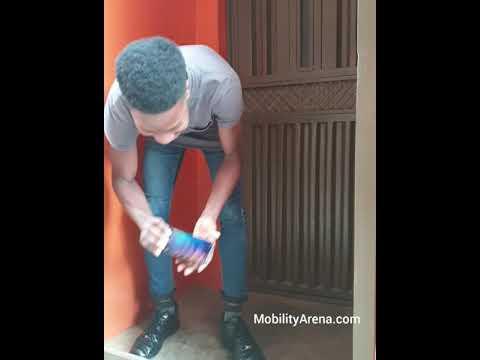 Concrete floor drop test - Redmi Note 7 #unbreakablechallenge