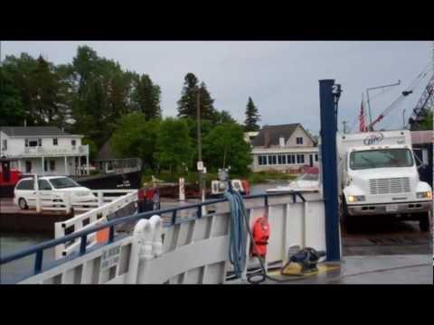 Ferry from Madeline Island to Bayfield, Wisconsin