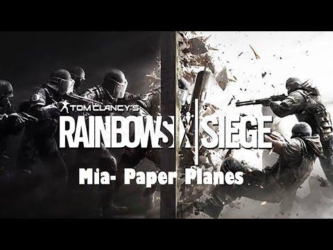 Rainbow Six Siege Paper Planes Sample #2