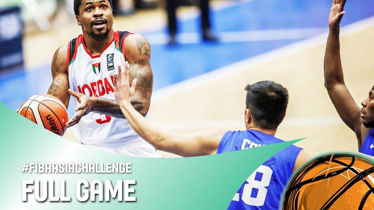 Jordan v Philippines - Full Game - FIBA Asia Challenge 2016
