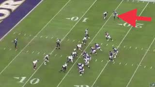 Jajuan Harley breaks down film at the safety position 12