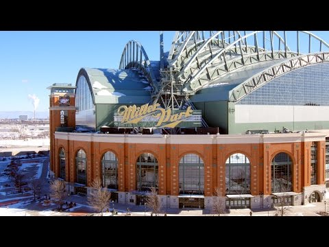 HD Aerial Views | Miller Park | Milwaukee Wisconsin | Brewers