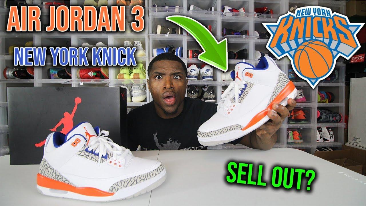 Air Jordan 3 New York Knicks Review