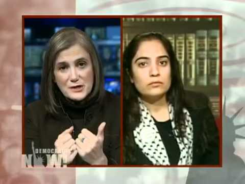 "Democracy Now! Part 2/2 ""Stop These Massacres""  Malalai Joya Interviewed-"