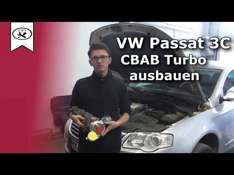 VW 2.0 Passat 3C CBAB Turbolader wechseln ( Ausbau) | Change turbocharger | VitjaWolf | Tutorial