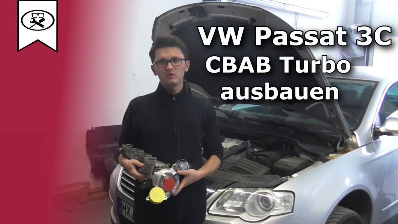 Vw 2 0 Passat 3c Cbab Turbolader Wechseln Ausbau
