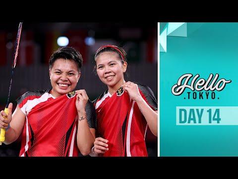 Meet Indonesia's badminton superstars! Hello Tokyo I DAY 14 🗼