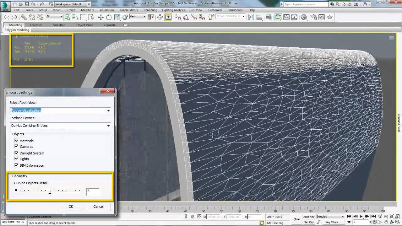 3ds Max and 3ds Max Design 2015 Extension 2 – Revit Import - YouTube