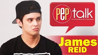 PEPtalk. James Reid has something to say about haters and it involves a peach
