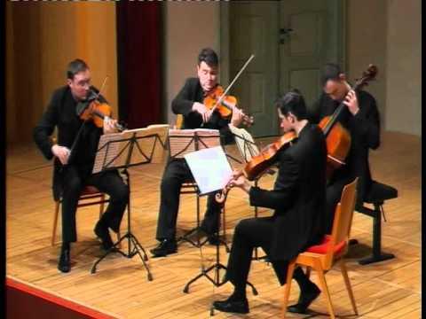 Jerusalem Quartet - J. Brahms, String Quartet Op. 51 NO. 1 - 3. Allegretto molto moderato e comodo