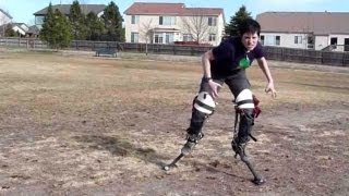 2012 Costume Reveal - Raptor Digitigrade Stilts