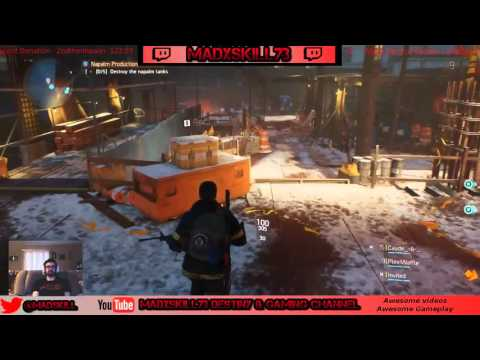 The Division - Story Mode Gameplay & Side missions