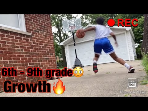 MIDDLE SCHOOL TO FRESHMAN YEAR BASKETBALL EVOLUTION 🔥⛹🏽‍♀️ |
