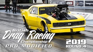 Motorsport UK Pro Mod Championship Round 4 2019 - Santa Pod Raceway