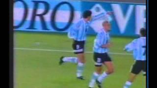 1997 (April 30) Argentina 2-Ecuador 1 (World Cup Qualifier).avi
