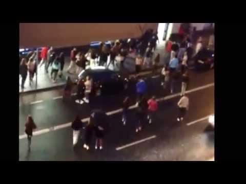Gang of children cause mayhem on busy Dublin street