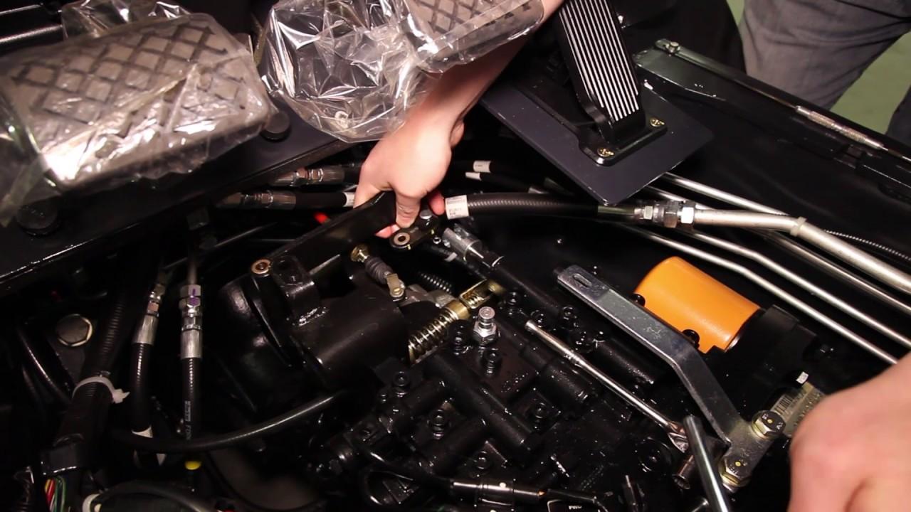 Inching Pedal Adjustment Tutorial Youtube Wiring Diagram Further Linde Fork Lift Parts Manual John Deere